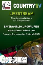 Showjumping Waikato 3* Championships