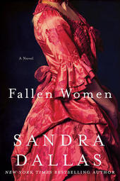 Sandra Dallas signs FALLEN WOMEN