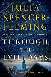 Julia Spencer-Fleming signs THROUGH THE EVIL DAYS