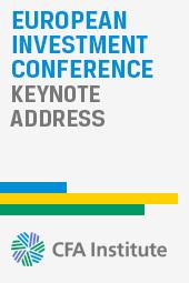 Martin Wheatley: EIC Keynote Address