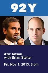 Aziz Ansari with Brian Stelter