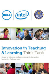 Innovation in Teaching & Learning Social Think Tank enabled by Dell   #domoreedu