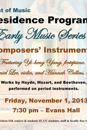 Concert: The Composers' Instruments