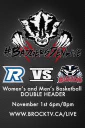 W/M Basketball vs. Ryerson