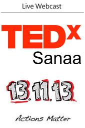 TEDxSanaa 2013