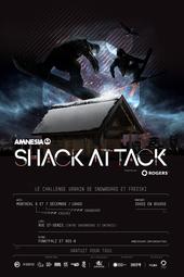 AMNESIA SHACK ATTACK - Amplifié par ROGERS