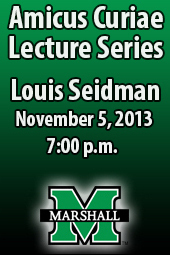 Louis Seidman; Amicus Curiae Lecture Series