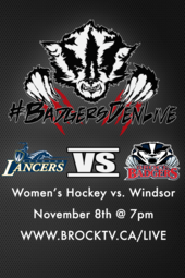 Women's Hockey vs. Windsor