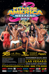 Fitness America Weekend 2013