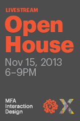 MFA Interaction Design Open House