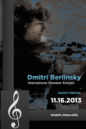Dmitri Berlinsky with International Chamber Soloists | 11.16.2013