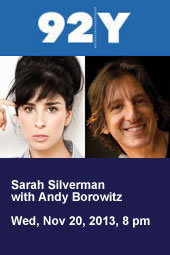 Sarah Silverman with Andy Borowitz
