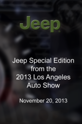 Jeep Special Edition - 2013 LA Auto Show