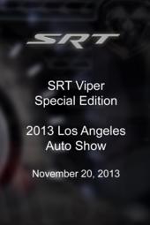 SRT Viper Special Edition - 2013 LA Auto Show