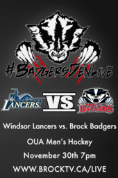 Men's Hockey vs. Windsor