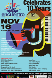 Encuentro NYC Colombian Music Festival - 10th Anniversary