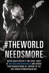 #THEWORLDNEEDSMORE
