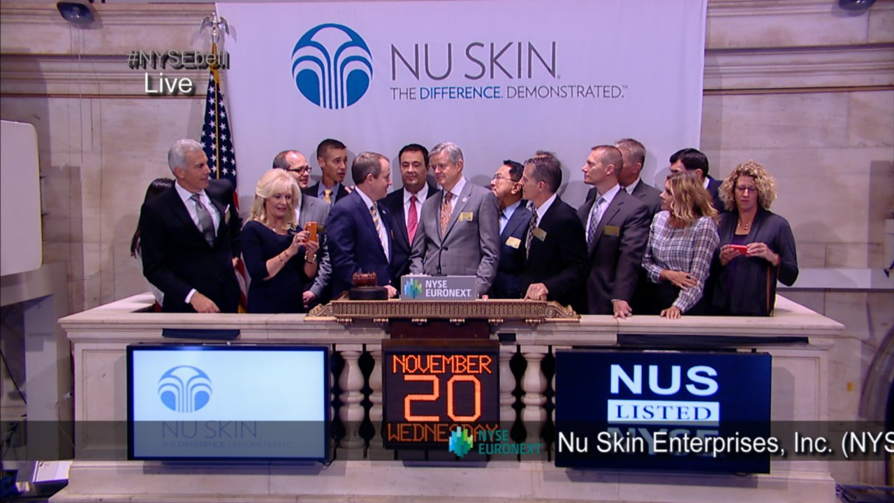 Image result for nuskin wall st