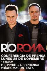 Río Roma - Conferencia de Prensa