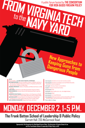 Virginia Tech to the Navy Yard: New Approaches to Keeping Guns from Dangerous People