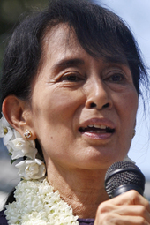 Aung San Suu Kyi at ANU