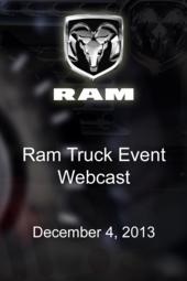 Ram Truck Event Webcast