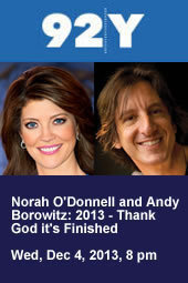 Andy Borowitz with Norah O'Donnell: 2013 - Thank God it's Finished
