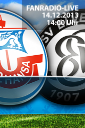 20. Spieltag F.C. Hansa Rostock - SV Elversberg