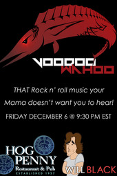 Friday Night - Voodoo Wahoo live at Hog Penny Pub