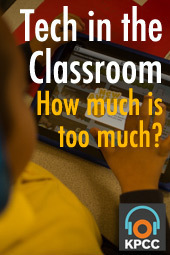 Tech in the classroom: How much is too much?