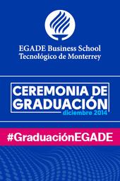 EGADE Business School México Graduación