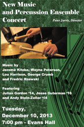CC New Music & Percussion Ensemble