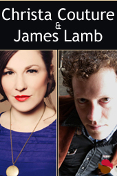 Christa Couture & James Lamb live at Streaming Cafe
