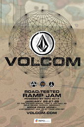VOLCOM ROAD TESTED RAMP JAM AT ISPO 2014