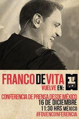Franco De Vita - Conferencia de Prensa