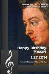 Happy Birthday Mozart! | West Circle Series | 1.27.2014