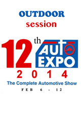 AUTO EXPO 2014 Outdoor