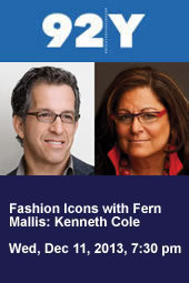 Fashion Icons with Fern Mallis: Kenneth Cole—Discussion and Screening with Simon Doonan and Alan Cumming