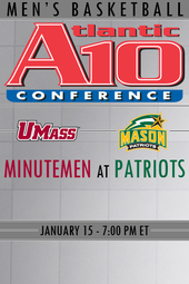 UMass at George Mason Basketball