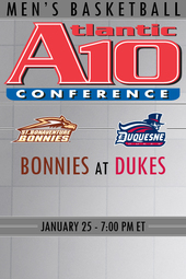 St. Bonaventure at Duquesne Basketball