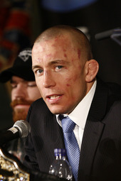 UFC: Georges St-Pierre press conference