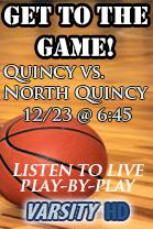 Hoops - Quincy vs North Quincy