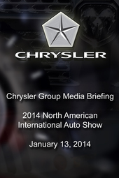 Chrysler Group Media Briefing