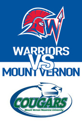 Men's Basketball: WJU vs. Mount Vernon Nazarene University