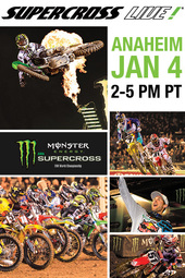 Anaheim - Jan. 4, 2014 - Supercross LIVE!