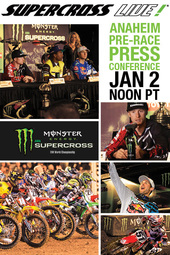 2014 Press Conference - Supercross LIVE!