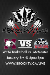 W+M Basketball vs McMaster