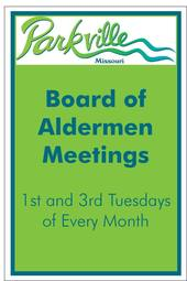Parkville Board of Aldermen Meetings