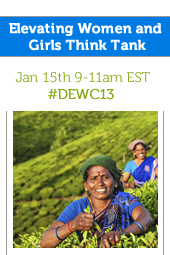 Elevating Women and Girls Think Tank  #DEWC13