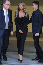 Tulisa @ Southwark Crown Court